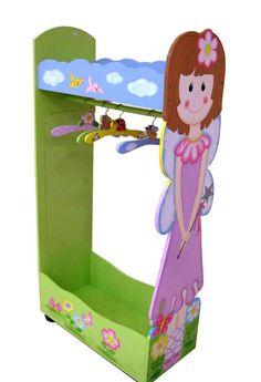 Girls Dress Up Storage | CHILDREN KIDS GIRLS CLOTHES RACK HANGER STORAGE CLOTHES RAIL 10059 ...