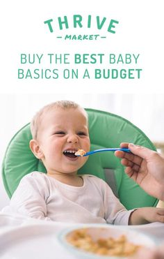 At Thrive Market, find safe, effective essentials that you and your baby (and your budget) will love! We offer baby food, baby clothes, baby toys, nursery items, and other basics at unbeatable prices, all up to 50% off retail every day, and delivered for free to your door. Visit Thrive Market, and unlock unbelievable savings today!