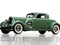 Green, 1932-1939, Packard Twelve, classic car wallpaper