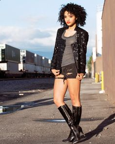 actress kiersey clemons styled by Jazmin Whitley