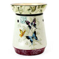 Butterfly Wax Tart Oil Warmer Use with Scentsy Bar Oil | eBay
