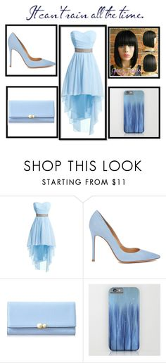 """Blue sea"" by evi-alverti on Polyvore featuring Gianvito Rossi"