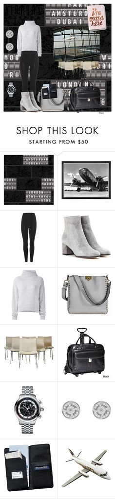 """I'm So Outta Here!"" by klm62 on Polyvore featuring Eichholtz, adidas Originals, Gianvito Rossi, Le Kasha, Valentino, McKleinUSA, Royce Leather and Express"
