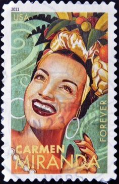 Carmen MIRANDA, 2011, US?! How did I miss this?! I need these stamps