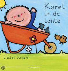 Karel in de lente - Liesbeth Slegers - plaatsnr. K SLEG/016 #Prentenboek #Lente #Seizoenen