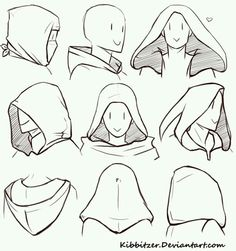 How to draw hoods