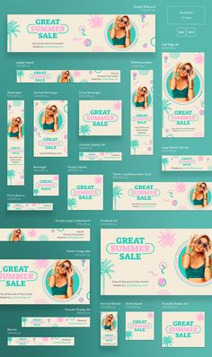 Great Summer Sale | Modern and Creative Templates Suite on Behance