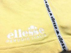 Vintage Ellesse shorts pants striped logo Size S 24-32 Excellent condition by AlivevintageShop on Etsy