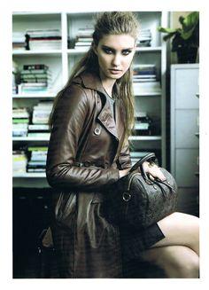SABATINI Leather Trench Coat in the latest Fashion Quarterly magazine, a must have this season! Leather Trench Coat, Leather Jacket, Latest Fashion, Punk, Magazine, Clothing, Jackets, Photography, Fashion Design