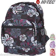 Hi-Tec Flower Mini Backpack Rucksack Kids Girl School Bag Small Childrens ladies