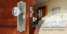 Cabinet Hardware - Cabinet Knobs, Handles & Pulls, Door Hardware, Bathroom Accessories, Switchplates on sale