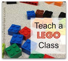 Plans to teach a LEGO class