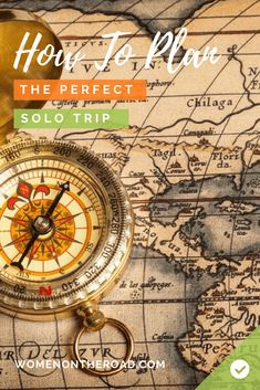 Want to plan the perfect solo travel trip? Check out this complete guide to planning the perfect trip! >>> via women-on-the-road. Solo Travel Tips, Packing List For Travel, Travel Advice, Travel Checklist, Travel Trip, Travel Hacks, Senior Trip, Travel Scrapbook, Travel Alone