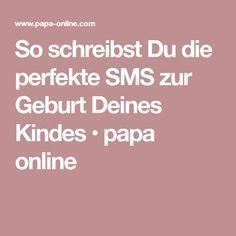 So schreibst Du die perfekte SMS zur Geburt Deines Kindes • papa online