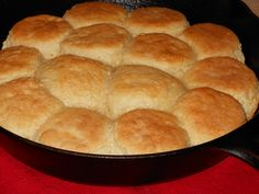 Made From Scratch Buttermilk Biscuits in a Cast-Iron Skittet like Grandma's. biscuits, homemade biscuits, how to make biscuits video, biscuit video buttermilk biscuits