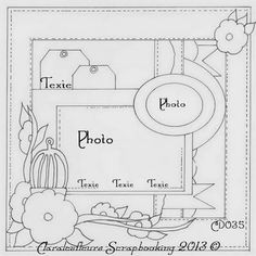 Claralesfleurs - Sketch de page CD035