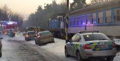 Srážku auta s vlakem nepřežili ve Vejprnicích tři lidé