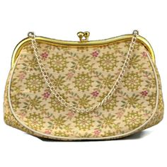 Designer Tapestry Purse Embroidered Handbag by EclecticVintager