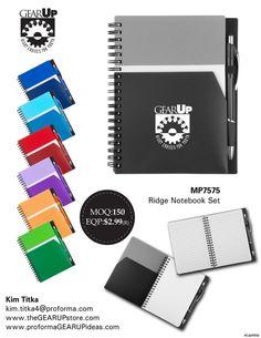 New #GEARUP Ridge Notebook Set for 2017