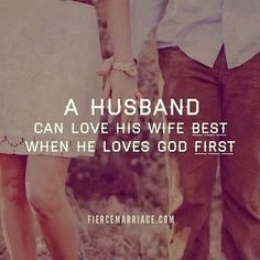 Loving God first