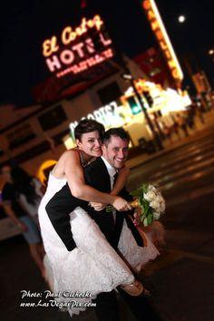 Las Vegas Strip Wedding Photos Locations
