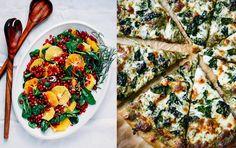 Man behöver inte vara vegetarian för att fylla julbordet med härliga gröna smaker. Vi har listat 15 juliga vegorätter som passar till allt! Vegetarian Recipes, Snack Recipes, Snacks, Vegan Christmas, Vegan Baking, Vegetable Pizza, Quiche, Food And Drink, Veggies