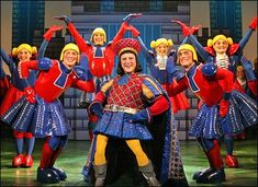 Christopher Sieber as Lord Farquaad in Shrek the Musical