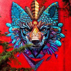 The work of Farid Rueda from Mexico #streetart #streetartnews @farid_rueda