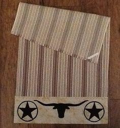 Western kitchen tea towel by MojaveRiverGal on Etsy, $15.00