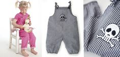 Minikrea sewing pattern - Overalls | buy in-store and online from Ray Stitch