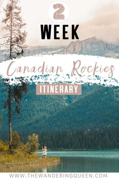 The best two week Canadian Rockies Itinerary. This post includes Banff National Park Jasper National Park Lake Louise Moraine Lake The Icefields Parkway Hikes photography spots restaurants maps Bow Valley Parkway and so much more! Canadian Travel, Canadian Rockies, Alberta Canada, Banff Canada, Banff National Park, National Parks, Cool Places To Visit, Places To Go, Vancouver
