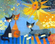 cat art - Google zoeken