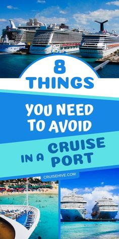 Here are important cruise tips on things to avoid while spending a day in the cruise port. An essential destination guide for your cruise vacation. Best Cruises for 2019 Bahamas Cruise, Cruise Port, Cruise Travel, Cruise Vacation, Disney Cruise, Vacation Spots, Vacation Ideas, Cruise To Mexico, Carnival Cruise Bahamas