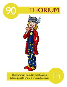 Thorium is a naturally occurring radioactive chemical element, found in abundance throughout the world. It was discovered in 1828 and named after Thor, the Norse god of thunder. It is a component of the magnesium alloy called Mag-Thor, used in aircraft engines and imparting high strength and creep resistance at elevated temperatures. Thoriated magnesium was used to build the CIM-10 Bomarc missile,