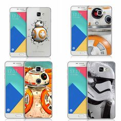 Star Wars The Force Awakens BB-8 Droid Robot R2D2 Plastic Hardcover Cover Case For Samsung Galaxy A3 A5 A7 2016 J1 J5 J7  2016