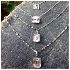 Holy white topaz ! ; ) Different cuts , sizes .. Wear your own  Bezel set in white gold .  Info@swdjewelry.com