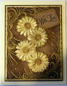 Embossing Folders | Sheena Douglass - Crafts, Papercrafting, Stamps, Create & Craft Cool Cards, Diy Cards, Sheena Douglass, Gilding Wax, Crafters Companion Cards, Embossed Cards, Card Making Techniques, Thanksgiving Cards, Create And Craft