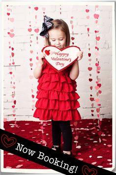 Valentineu0027s Day Children Photography