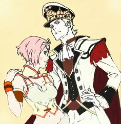 I love charioce and nina from snb:virgin soul.i colored this picture animator drew.