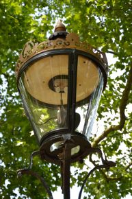 Lamppost. Green Park, London
