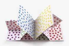 Antonio Ladrillo: Dots, Lines and Colours. Books that are made for (visual) play: playing with different colours, patterns and perspectives