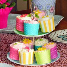 Alex im Cupcake Wahnsinn . . . . . 1. Teil, Walnuss-Vanille Cupcakes Vanille Cupcakes, Pudding, Desserts, Food, Biscuits, Pies, Kuchen, Madness, Homemade