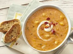 Butternut Squash and Cannellini Bean Soup