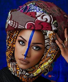 """713 Likes, 2 Comments - African Style Diary (@africanstylediary) on Instagram: """"Good morning World!! Beautiful make up & face paint by @mamzabeauty . . #africanstylediary #african…"""""""
