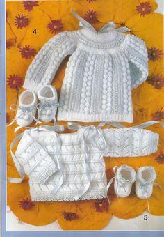 Мобильный LiveInternet Журнал : muestras y motivos Especial Bebes 24 . Free Baby Blanket Patterns, Baby Sweater Patterns, Baby Blanket Crochet, Vintage Knitting, Baby Knitting, Baby Cardigan, Free Baby Stuff, Baby Sweaters, Baby Accessories