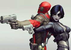 'Deadpool Get Your First Look of Zazie Beetz as Domino Domino Marvel, Marvel Art, Marvel Dc Comics, Ryan Reynolds, Dead Pool, Comic Books Art, Comic Art, Book Art, Walt Disney