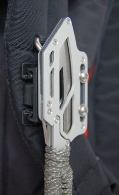 Knife on Pack Strap - for more info visit www.montiegear.com