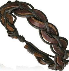 браслет мужской кожаный
