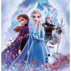 Frozen 2 Elsa Anna Edible Image Photo Cake Topper Sheet 1/4 Sheet ABPID50338