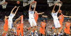 (1) Kentucky 69, (4) Louisville 61. The Wildcats will play for a national title Monday night. (Photos by US Presswire.)